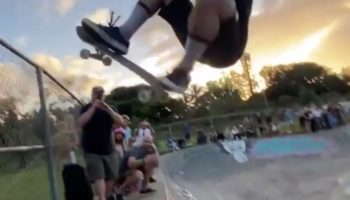 This Skateboarding Trick Is An Incredible Feat Of Balance
