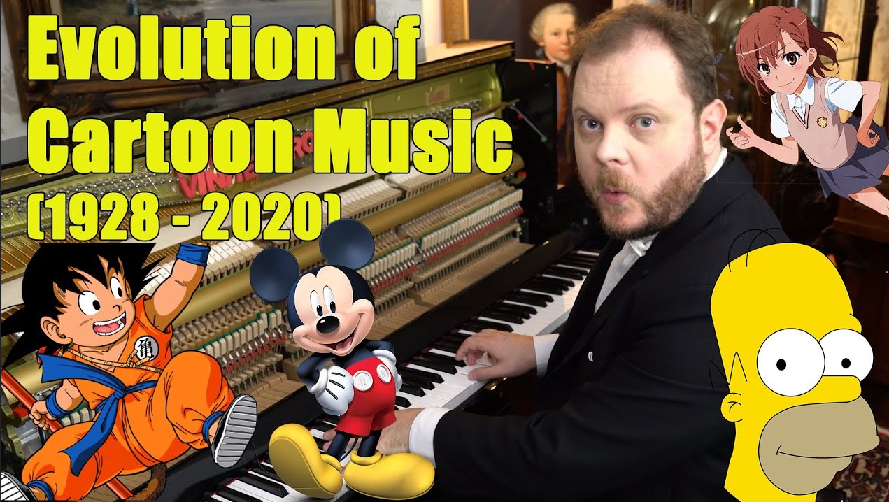 Piano Virtuoso Performs A History Of Cartoon Music In 10 Minutes