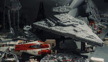 Building A 20,000-Piece LEGO Star Destroyer