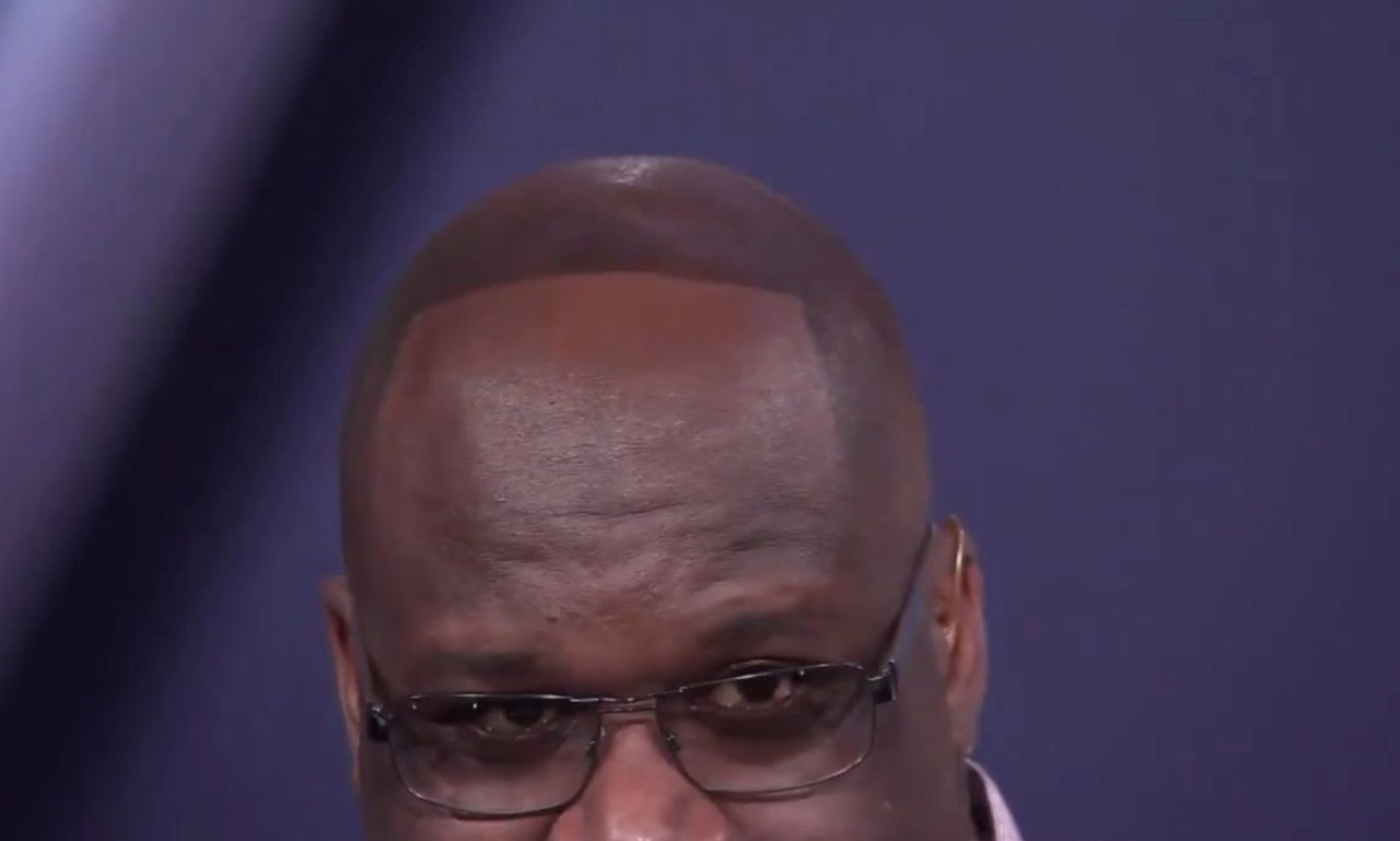 Shaq Reveals His Natural Hairline After Losing Bet To Dwyane Wade