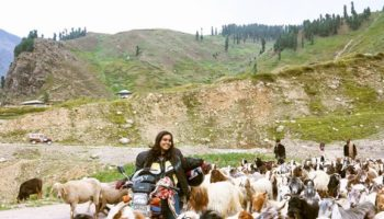 The Motorcycle Woman Of Pakistan