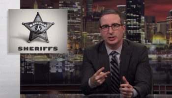 John Oliver Takes On America's Sheriff Problem