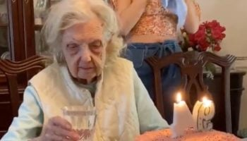 Grandma Has An Unexpected, Extremely Morbid Response To Her Birthday Cake