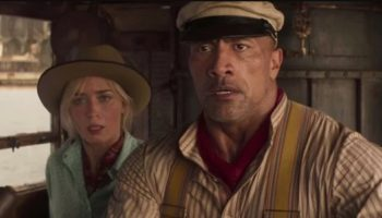 The Rock Tangles With A Jaguar And Emily Blunt In The Trailer For 'Jungle Cruise'
