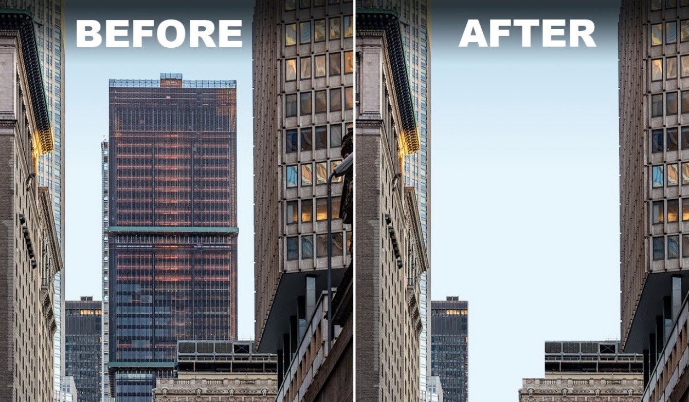 The Insanely Difficult Process Behind Removing An Old Skyscraper To Build A Bigger One