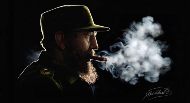 My Portrait Session With Fidel Castro