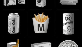 Brands Reimagined With Bland, Monochromatic Packaging