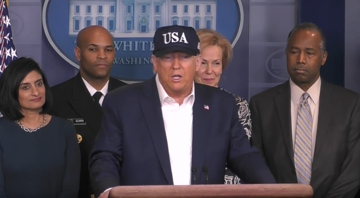 Trump Reveals He Took A Test For Coronavirus And Is Awaiting The Results