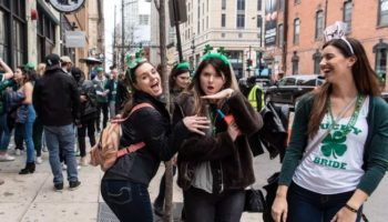 Despite Calls For 'Distancing,' Chicagoans Party Hard For St. Patrick's Day