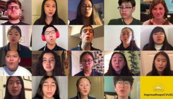 Coronavirus Canceled A California High School's Choir Performance — So They Streamed A Performance Together