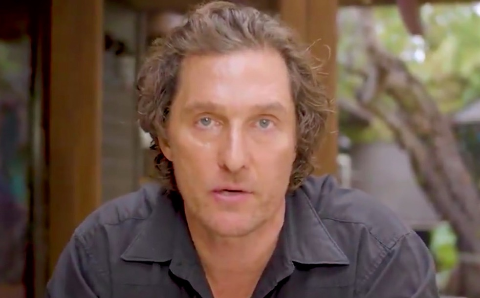 Matthew McConaughey Gives Us The Only Pandemic Pep Talk We Need
