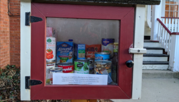 Big-Hearted Strangers Turn Little Free Libraries Into Little Free Pantries