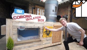 Wacky Inventor Builds The Ultimate Coronavirus Isolation Box That Will Protect You Until This Whole Thing Blows Over