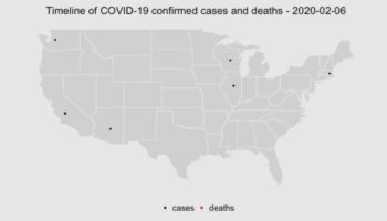 The Spread Of Confirmed Cases Of Coronavirus In The United States Since January, Visualized