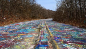 This Graffiti-Covered Abandoned Highway In Pennsylvania Looks Like A Scene From A Horror Movie