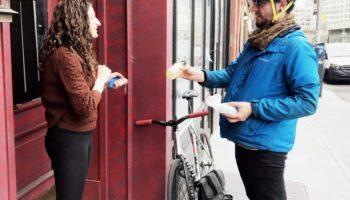 A Brooklyn Bartender Is Biking Door To Door To Provide Essential 'Medication'