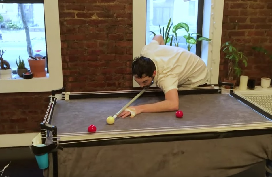 How To Build Your Own Quarantine Pool Table
