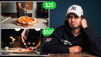 Guy Pays Editors $25 To $500 To Edit A Pizza Commercial, Compares The Finished Products To See Which Was Worth It
