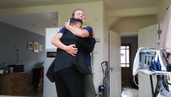 Guy Returns Home From Trip 10 Months Early Due To Coronavirus, And His Brother's Reaction Is The Most Beautiful Thing