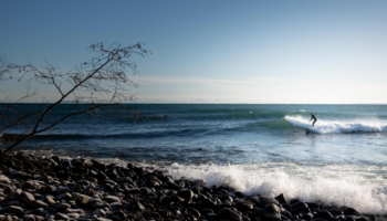 The Great Lakes Depend On Ice. This Winter, They Barely Froze