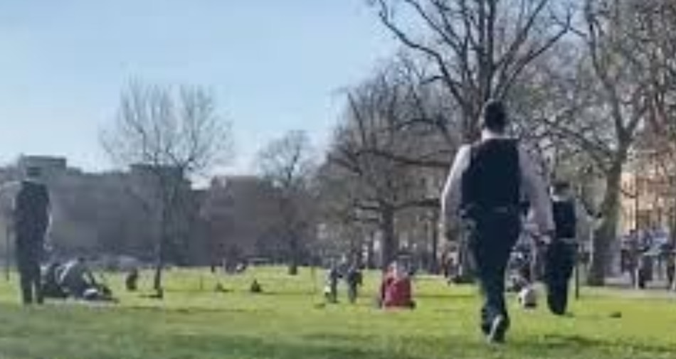 Locked-Down Londoners Went To The Park… And The Police Were *Not* Having It