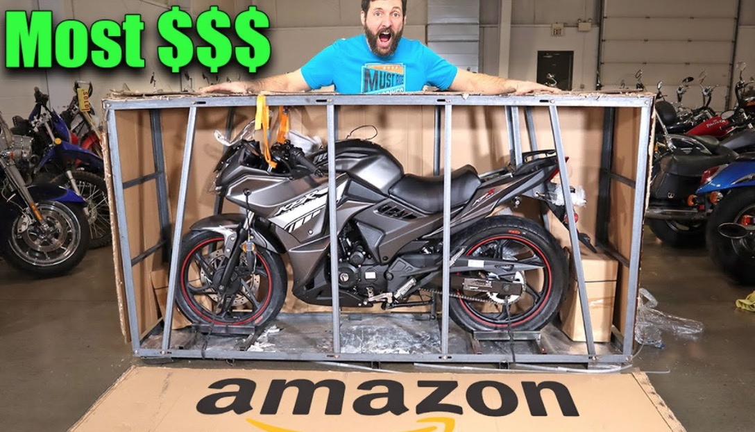 What It's Like To Buy The Most Expensive Street Legal Motorcycle On Amazon
