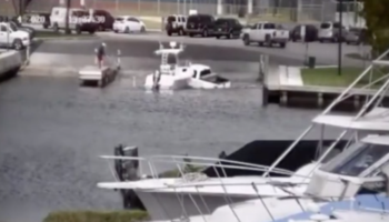 Well, This Boat Launch Really Went Poorly