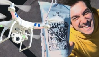 This Comedian Ran Out Of Coffee While Quarantined And Found A Clever Way To Use His Drone To Get Some More