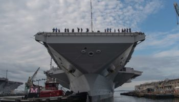 The US's $13 Billion Aircraft Carrier Has A Toilet Problem