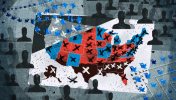 Facebook, Google And Twitter Struggle To Handle November's Election