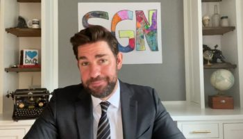 John Krasinski Enlists The Help Of Steve Carell To Report On Some Wholesome Good News That Doesn't Depress Us