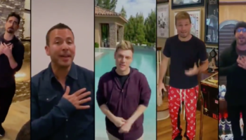 The Backstreet Boys Reunite Remotely In This Heartwarming Performance Of 'I Want It That Way'