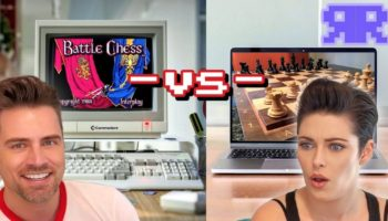 Can A 1987 Commodore Amiga Beat A 2019 Macbook At Chess?