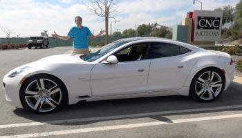 A Tour Inside The Fisker Karma — The Weirdest Plug-In Hybrid Luxury Sedan You Can Buy
