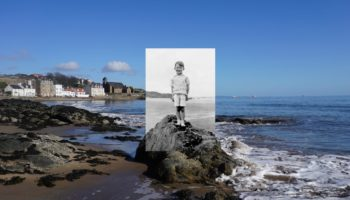 Vintage Holiday Photographs Placed In Their Original Settings