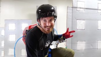 YouTuber Gets Design Team To Build Him Real-Life Web Slingers Like From 'Spider-Man'