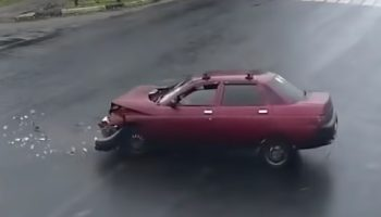 This Footage Of Car Crashes With One Of The Vehicles Digitally Removed Is Deeply Unsettling