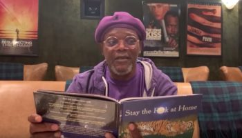 Samuel L. Jackson Reading 'Stay The F**k At Home' Is Profanely Beautiful