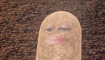 This Woman Accidentally Turned Herself Into A Potato For A Video Meeting And Couldn't Figure Out How To Fix It