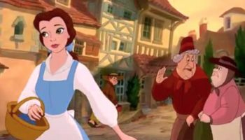 Belle Recklessly Goes Out In Public Without Washing Her Hands In This 'Beauty And The Beast' Parody