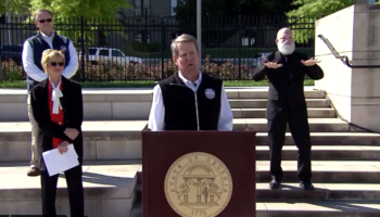 The Flabbergasting Moment When Georgia Governor Brian Kemp Says He Just Learned That Asymptomatic People Can Transmit COVID-19