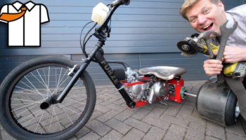 How To Build A Motorized Drift Trike With Really Basic Tools