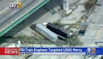 Man Tries To Ram Train Into US Navy Hospital Ship, Doesn't Even Come Close