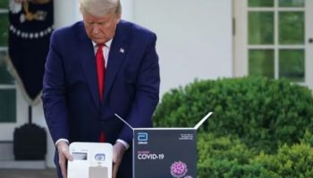 Trump Praised The New Five-Minute Coronavirus Testing Machines, But The Feds Are Only Planning To Send States Up To 15 Each
