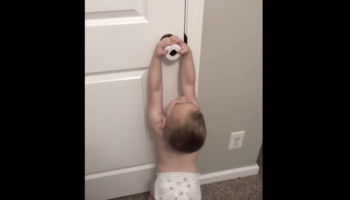 Parents Thought A Childproof Doorknob Would Deter Their 2-Year-Old Son. They Underestimated Him