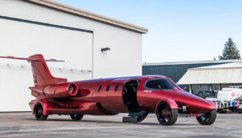There's No Limo More Extreme Than This $1M Learjet-Turned-Party Rig