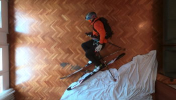 Skier Finds A Genius Way To Ski In His Living Room In Cute Stop-Motion Short