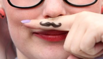The 'Fingerstache' Ruled The 00s, But Many Still Have to Live With It