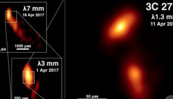An Incredible New Image Of A Black Hole Spewing Material At 99.5% Of Light Speed, From The Telescope That Took The First Ever Image Of A Black Hole