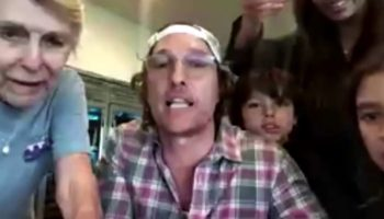 This Video Of Matthew McConaughey Hosting A Virtual Bingo Night For Retired Seniors Over Zoom Is Just What We All Need